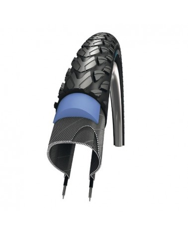 Marathon Plus Tour Smart Guard 37-622 - SCHWALBE - Pneu vélo ville
