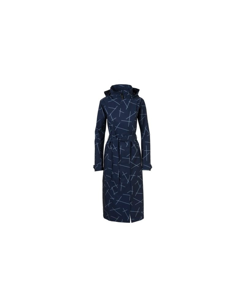 Veste velo pluie femme agu Urban outdoor trench coat long