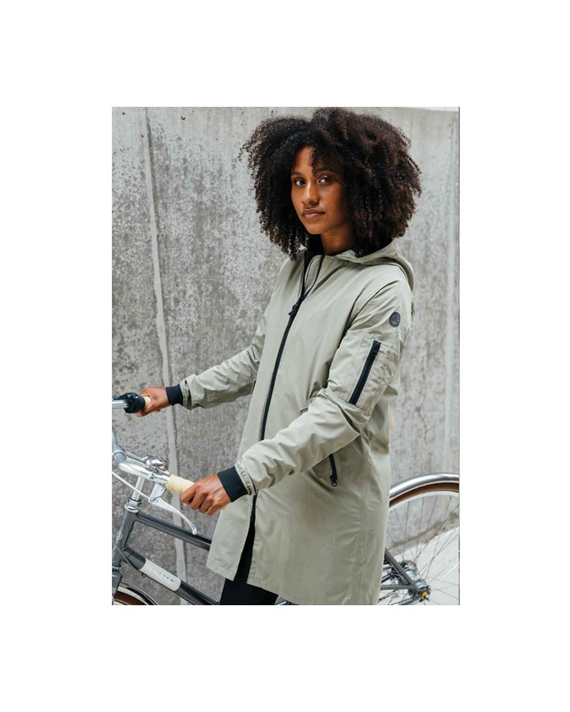 Long Bomber Jacket Urban outdoor - AGU - Veste pluie femme