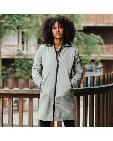 Manteau de Pluie Agu Women Urban Outdoor Long Bomber