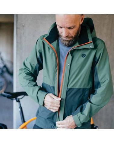 Section - AGU - Veste pluie vélo homme