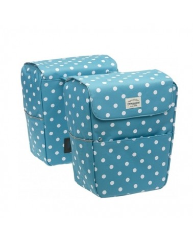 Jive Polka Double - New Looxs - Sacoche double vélo 26l