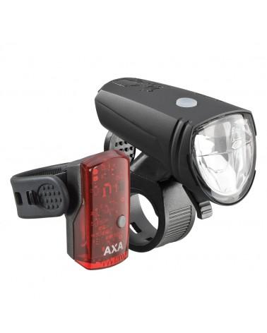 Set éclairage Axa Greenline 15 lux