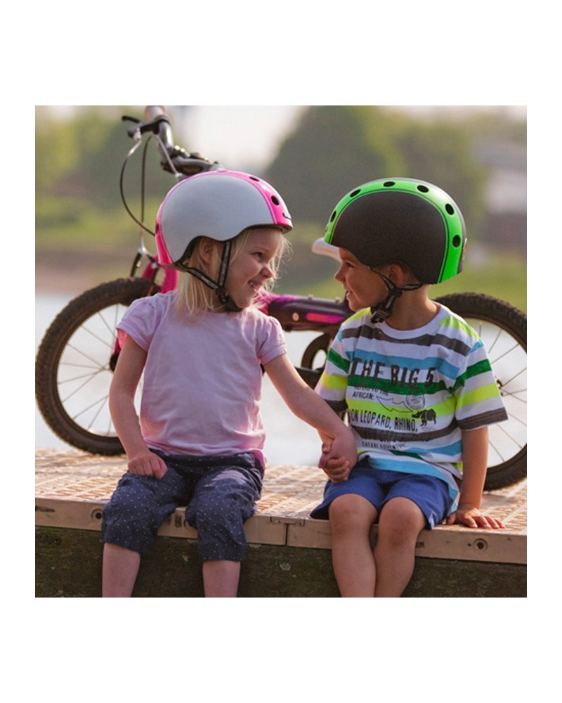 Casque vélo enfant Melon Urban Active double stripe