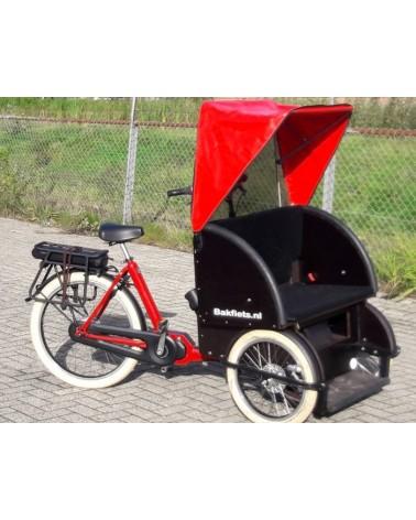 Biporteur électrique shadow steps - BAKFIETS