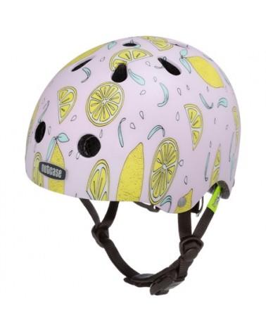Baby Nutty Pink Lemonade - NUTCASE - Casque vélo bébé (47 - 50 cm)
