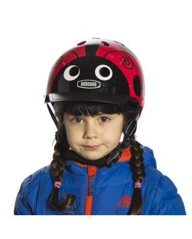 Little Nutty Coccinelle - NUTCASE - Casque vélo enfant