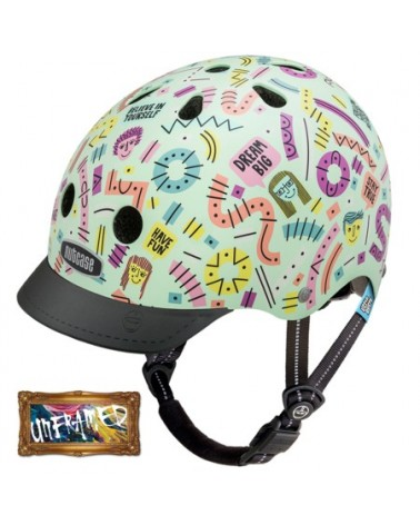 Little Nutty Stay Positive - NUTCASE - Casque vélo enfant (48 - 52 cm)