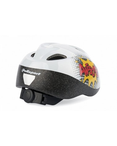 Comics - Polisport - Casque de vélo junior