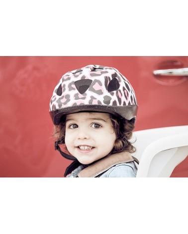 Pinky Cheetah - Polisport - Casque pour vélo enfant