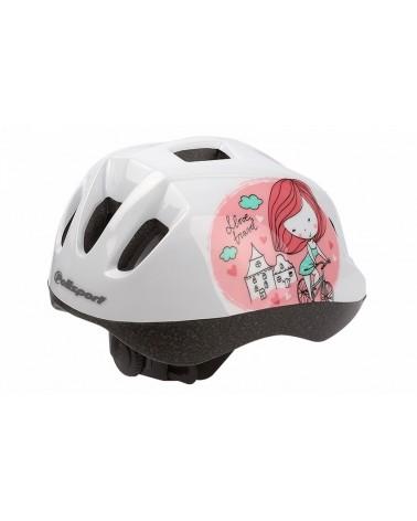 Princess - Polisport - Casque enfant vélo