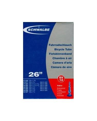 Chambre à air Schwalbe - Presta sv12