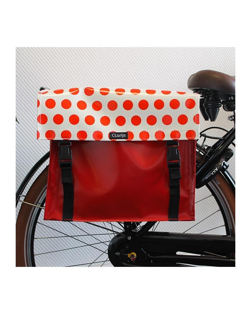 Sacoche vélo double Dots Clarijs