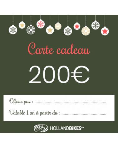 Carte cadeau - 200 euros