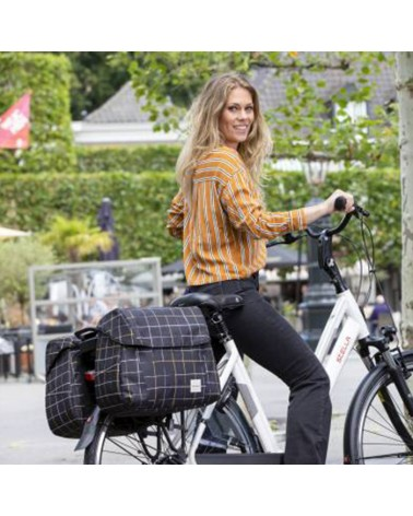 Sacoche de vélo New Looxs Joli Check