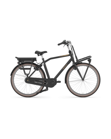 Vélo électrique hollandais HeavyDutyNL C7 HMB - GAZELLE - cadre haut