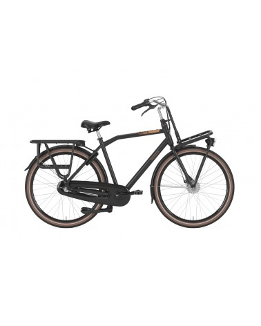 Vélo Gazelle HeavyDutyNL 3V - cadre haut