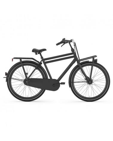 PUUR_NL Midnight cadre haut - GAZELLE - Vélo ville hollandais