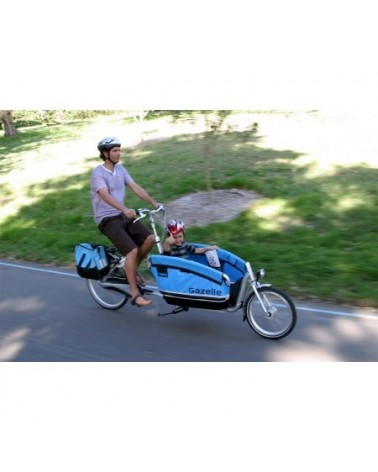 vélo cargo biporteur cabby gazelle