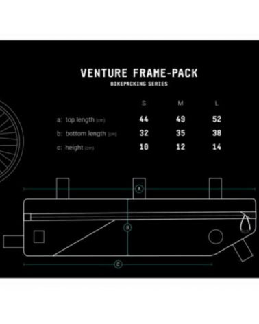Sacoche de cadre Venture - AGU - Taille S