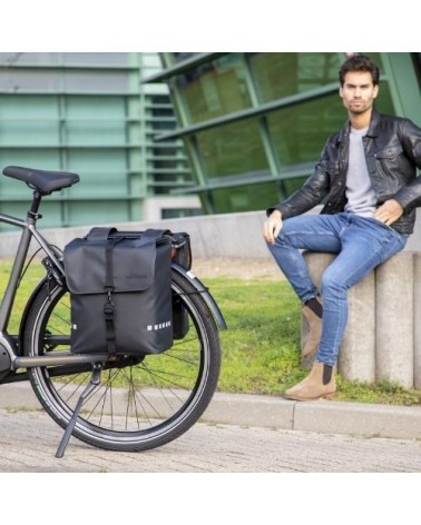 Sacoche double vélo Odense 39 L - New looxs