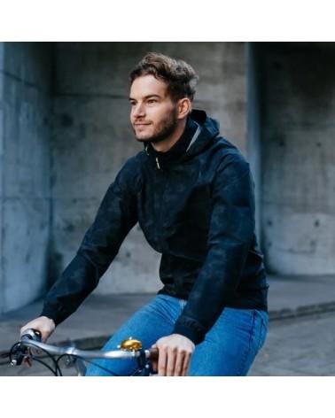 Veste de pluie Compact Commuter Reflection - AGU - veste vélo homme