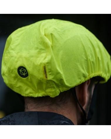 Housse de protection pluie fluo pour casque de vélo Agu