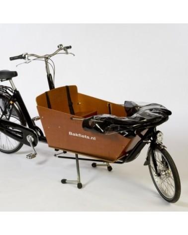 Tente pliable Cabrio pour biporteur long bakfiets
