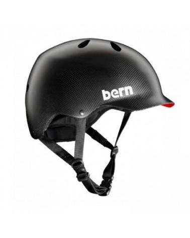 Fibre Carbon - BERN – Casque vélo