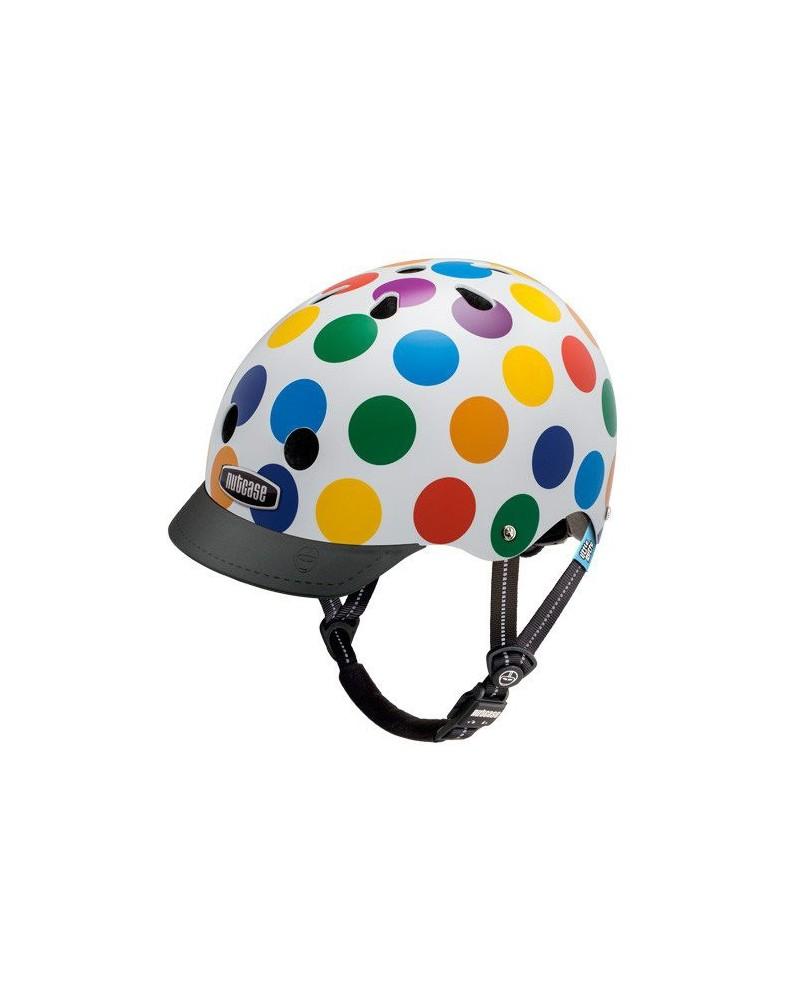Little Nutty Dots - NUTCASE - Casque vélo enfant (48 - 52 cm)