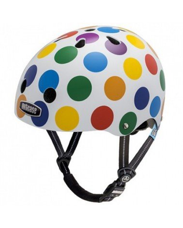 Little Nutty Dots - NUTCASE - Casque vélo enfant (48 - 52 cm)