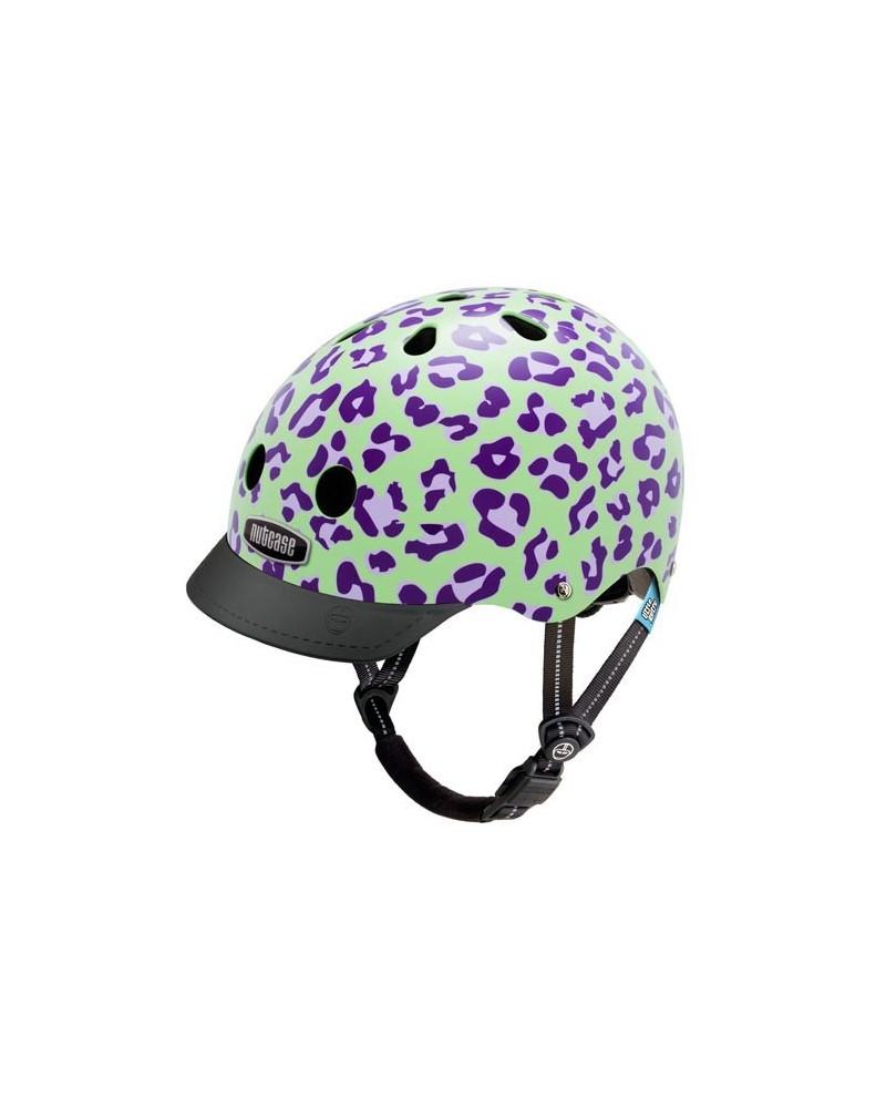 Little Nutty Grape Leopard - NUTCASE - Casque vélo enfant (48 - 52 cm)