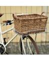 Portland basket - BASIL - Panier caisse vélo en rotin