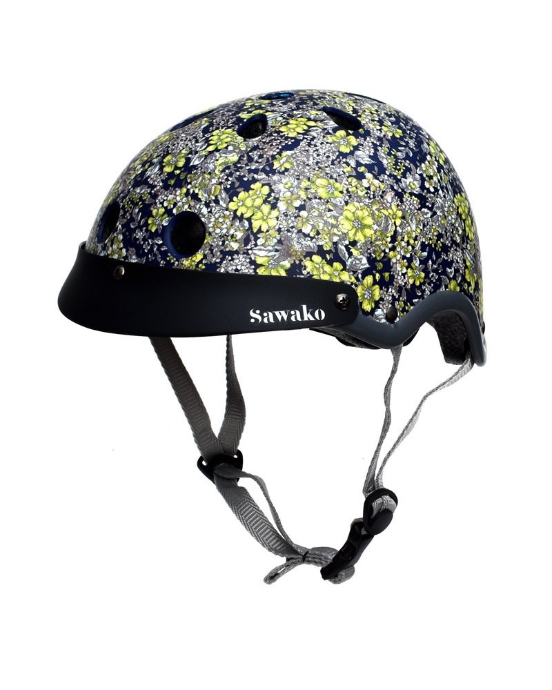Floral - SAWAKO FURUNO - Casque vélo