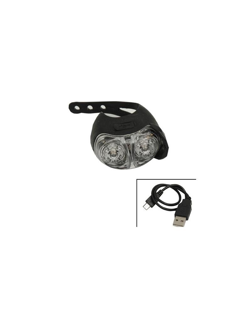 Eclairage avant et arrière - Cordo Dione USB - 6 lux