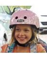 Little Nutty Daisy Pink - NUTCASE - Casque vélo enfant (48-52cm)