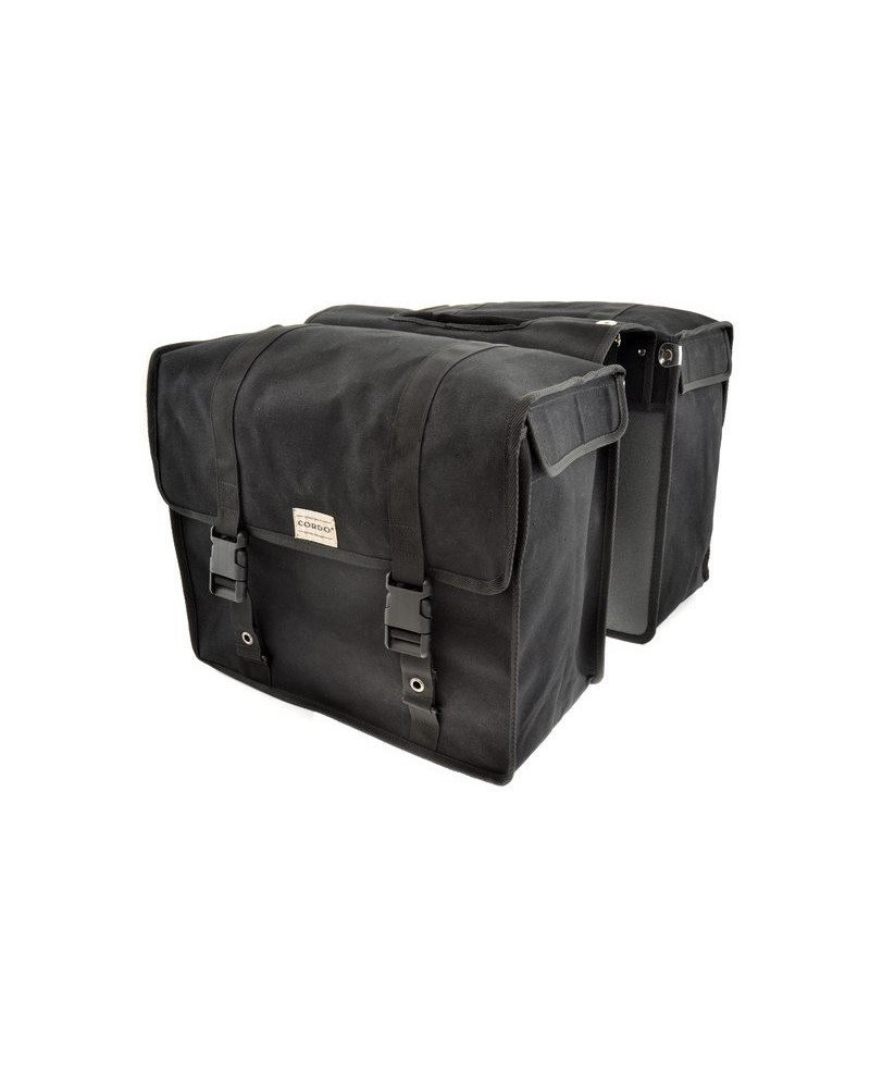 Sacoche double Cairns noir 47,5L