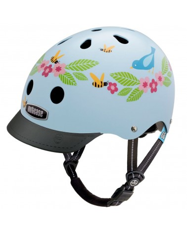 Little Nutty Bluebirds & Bees - NUTCASE - Casque vélo enfant