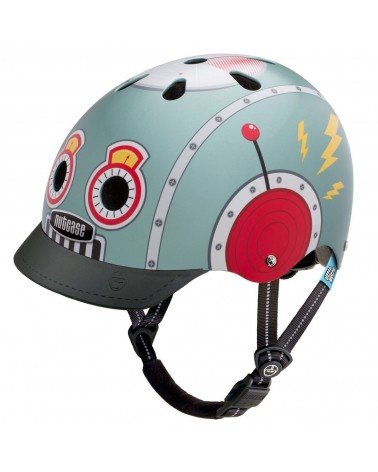 Little Nutty Tin Robot - NUTCASE - Casque vélo enfant