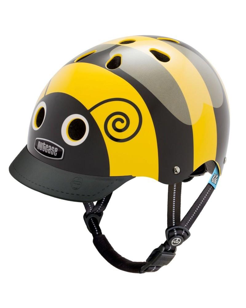 Little Nutty abeille - NUTCASE - Casque vélo enfant
