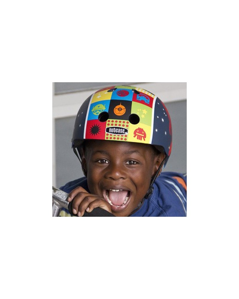 Little Nutty Space Cadet - NUTCASE - Casque vélo enfant (48 - 52 cm)