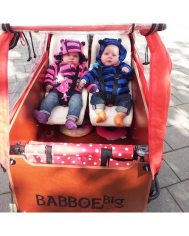 Siège bébé Mélia pour vélo cargo