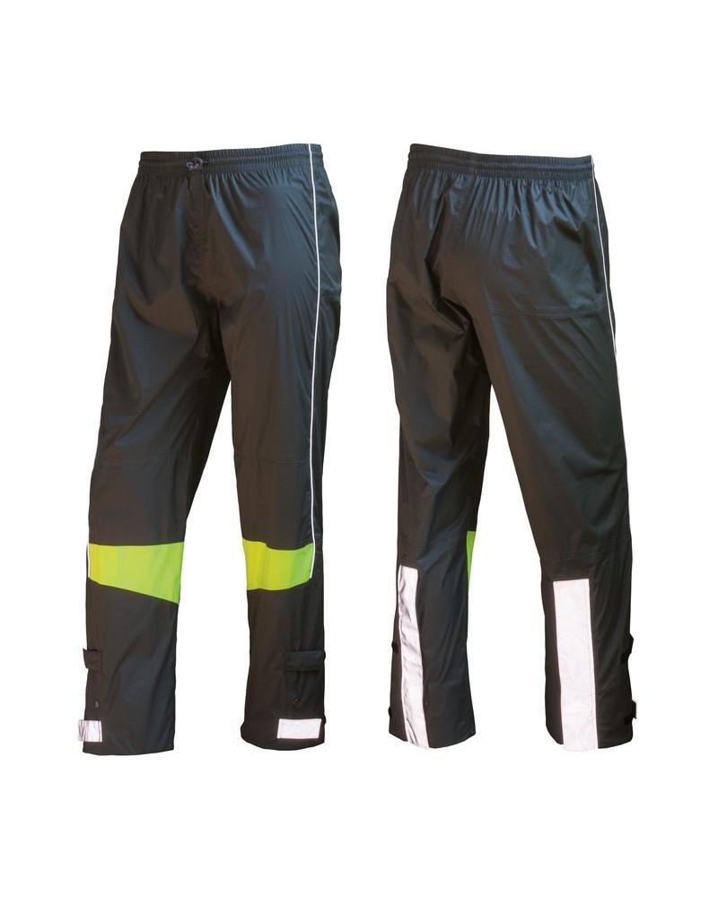WOWOW - Urban - Pantalon de pluie à bandes réfléchissantes
