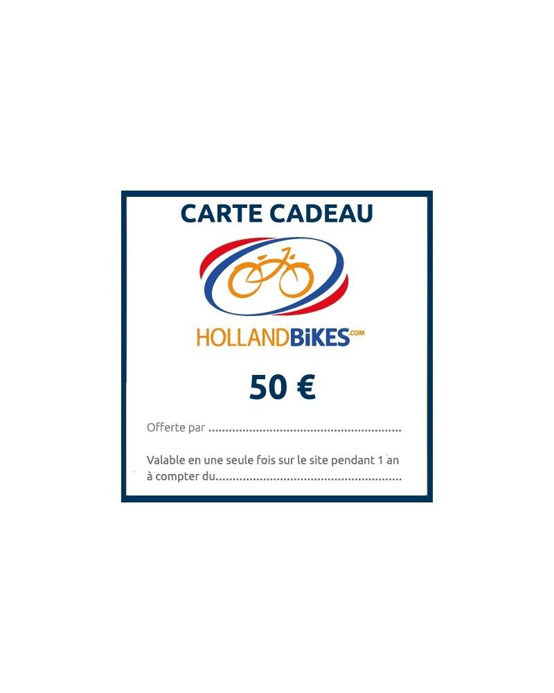 Carte cadeau - 50 euros