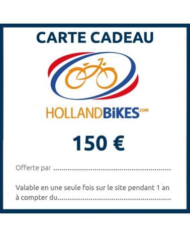 carte cadeau vélo holland bikes valeur 150€