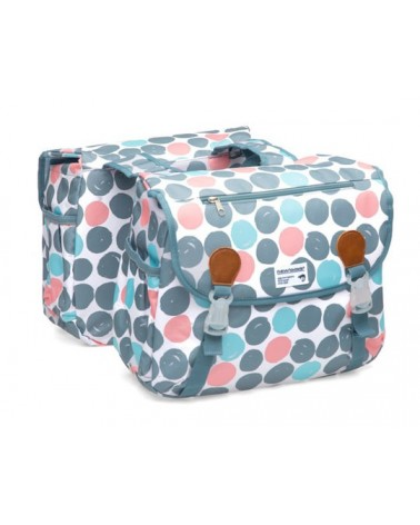 Dots Joli Double - New Looxs - Sacoche double vélo 34L