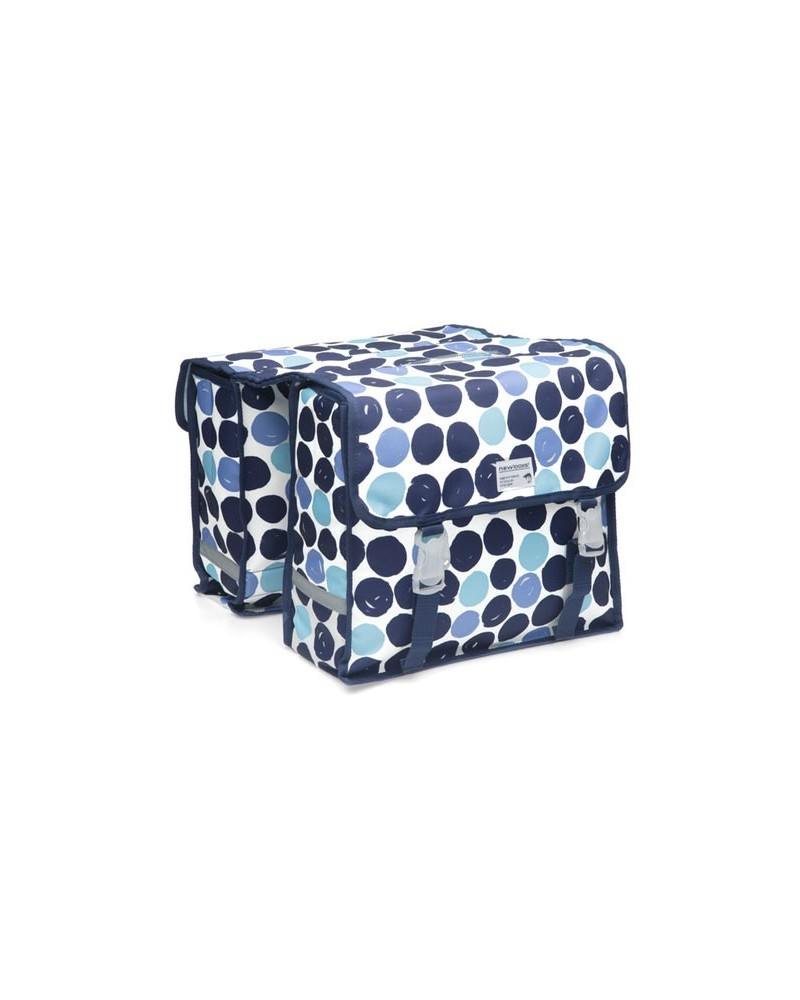 Dots Fiori Double - New Looxs - Sacoche double vélo 30L