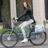 Dots Joli Midi Double - New Looxs - Sacoche double vélo 25L