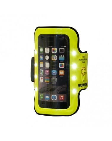 Brassard 8 LEDs pour smartphone - WOWOW