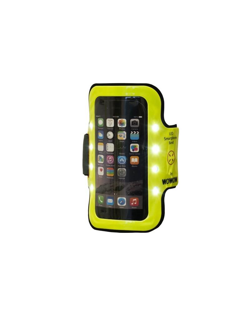 Brassard 8 LEDs pour smartphone Wowow